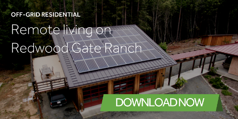 redwood gate off-grid residential