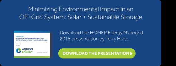 Download the HOMER Microgrid 2015 Presentation