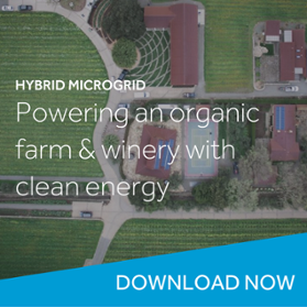 organic farm clean energy
