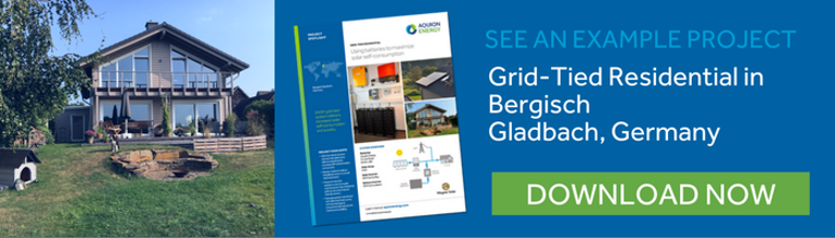 germany grid tied residential solar