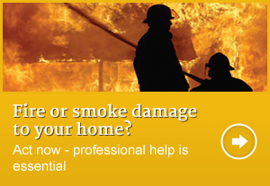 Fire and smoke damage insurance claim