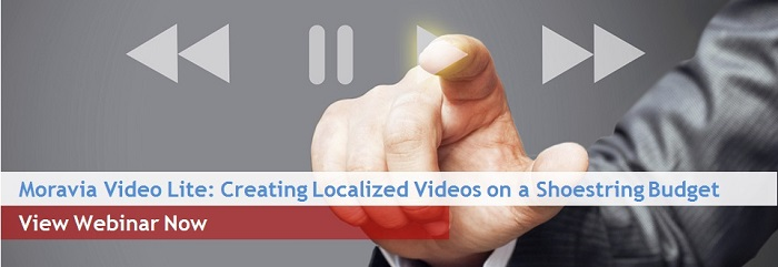 Moravia Video Lite: Creating Localized Videos on a Shoestring Budget