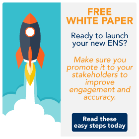 Free white paper. Promote your new emergency mass notification to improve accuracy and response rates.