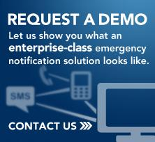 Request an emergency notification system demo