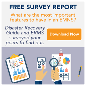 Emergency mass notification survey report by ERMS and Disaster Resource Guide