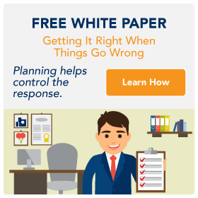 Getting it right when things go wrong white paper