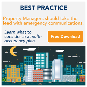 Property Managers and Emergency Communications