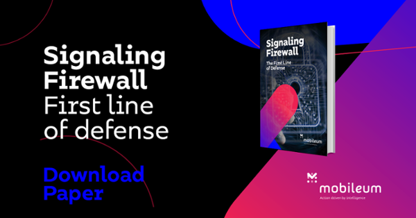 Signaling Firewall - The First Line of Defense