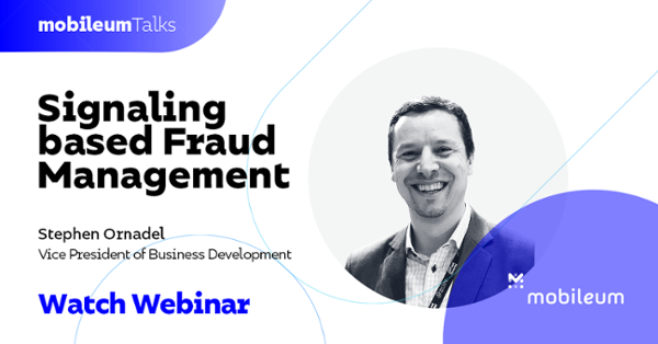 Signaling based Fraud Management