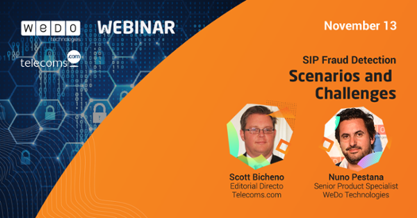 Webinar SIP Fraud Detection - Scenarios and Challenges