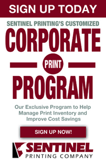 Sentinel Printing Customized Corporate Print Program