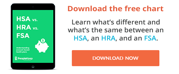 Learn the differences between HSAs, HRAs, HRPs, and FSAs