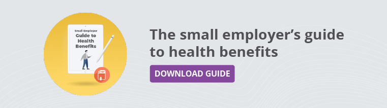 The Small Business's Guide to Health Benefits in 2020. Get Your Free Copy.