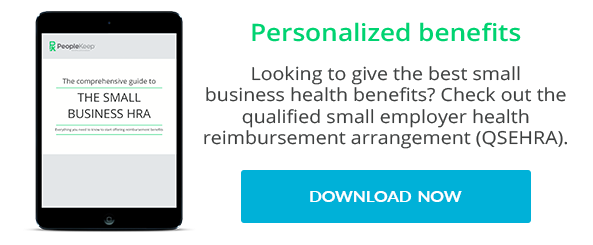 Get the free Small Business HRA eBook