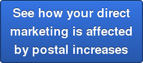 See how your direct marketing is affected by postal increases
