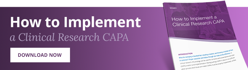 How to implement a clinical research CAPA
