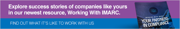 Working With IMARC, Your Partners in Compliance CTA