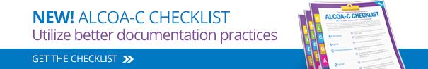 ALCOA-C Checklist Download