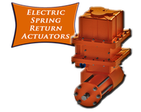Indelac Electric Spring Return Actuators