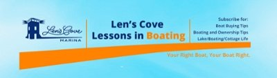 Len's Cove Lessons in Boating