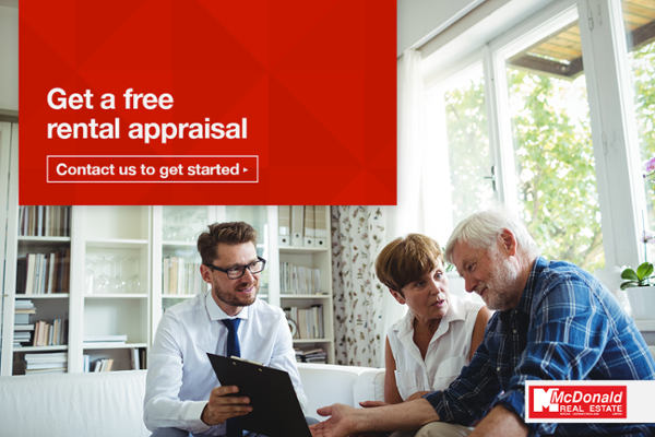 request a free rental appraisal - Taranaki