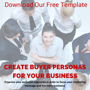 Download our free template - Create Buyer Personas