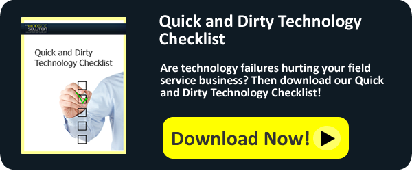 Quick and Dirty Technology Checklist