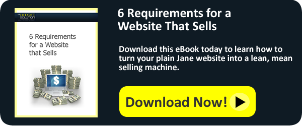 6 Requirements for a Website That Sells