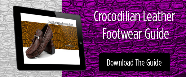 Download the Free Crocodilian Leather Footwear Guide!