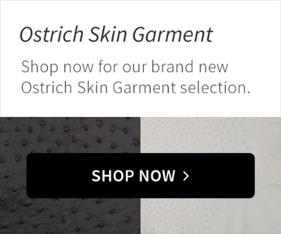 Ostrich Skin Garment