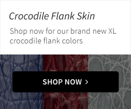 Crocodile Flank Skin