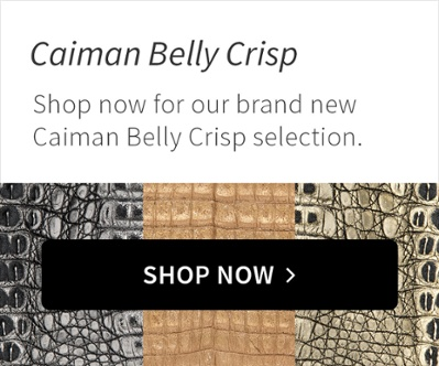 New Product: Caiman Belly Crisp