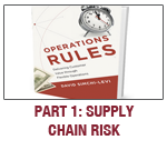 Operations Rules, David Simchi-Levi, Supply Chain Digest, Part 1