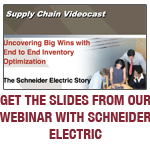 Schneider Electric, Inventory Optimization, Inventory Turnover