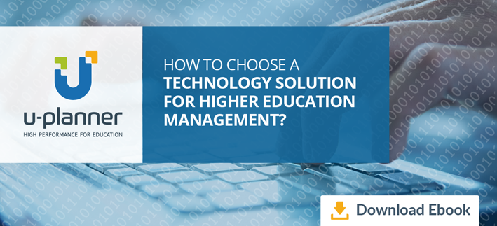 "Download your ebook ""How to chose a technology solution for higher education management"""