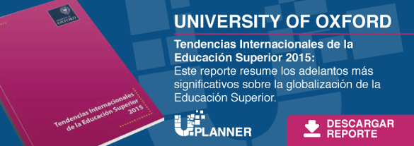 Tendencias Internacionales de la Educación Superior 2015 (University of Oxford)