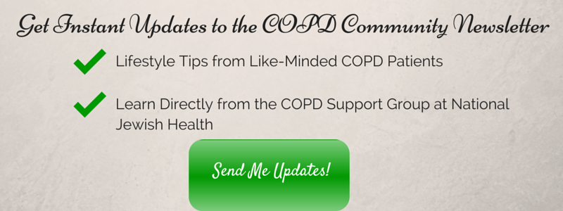 Subscribe to the COPD Community Newsletter