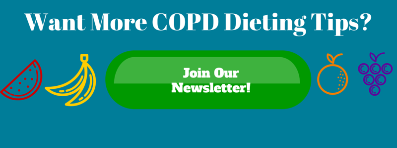 Get COPD Dieting Tips Sent Directly to You
