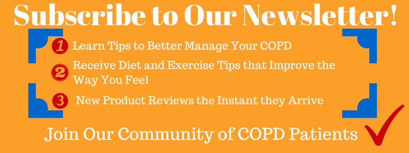 COPD Store's Newsletter Subscription