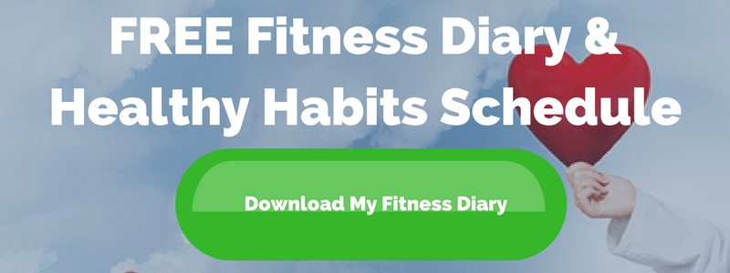 FREE Fitness Diary & Healthy Habits Schedule