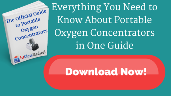 Download the Official Guide to Portable Oxygen Concentrators