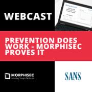 sans product review of morphisec - webcast