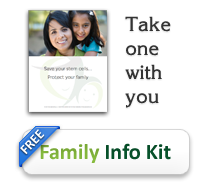 Family stem cell info kit