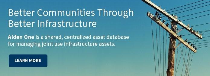Better Communities Through Better Infrastructure: Alden One