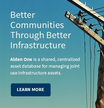 Better Communities Through Better Infrastructure: Alden One