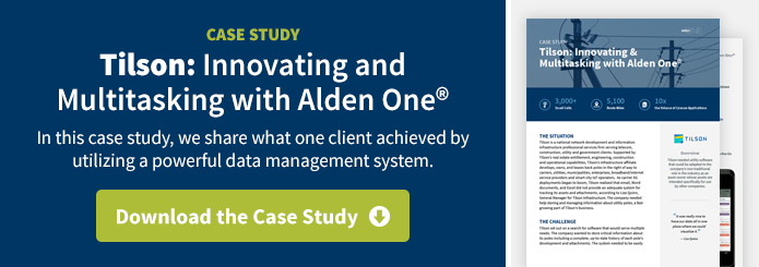 Tilson: Innovating and Multitasking with Alden One