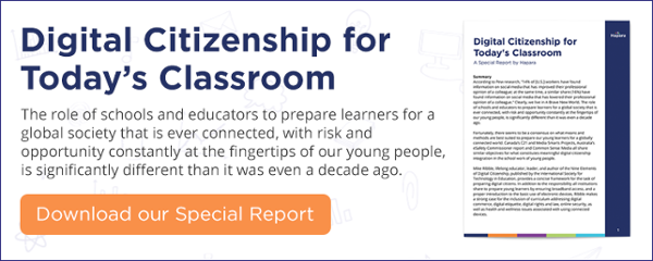 Download our Digital Citizenship for Today's Classroom Special Report