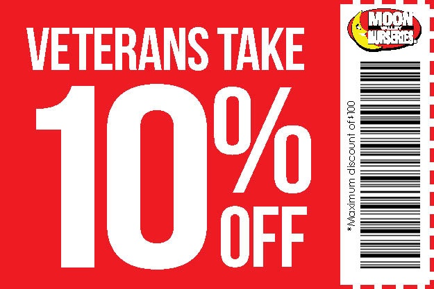 Memorial Day Coupon ten percent off