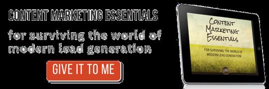 content marketing essentials lead generation cta