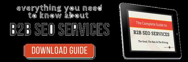 b2b seo services guide